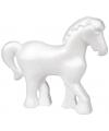 Piepschuim paardje versieren