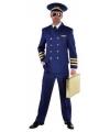 Blauw piloten pak heren