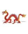 Speeldier chinese draak van plastic 19 cm