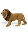 Plastic leeuw speelfiguur 14 cm