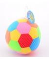 Speelgoed bal met rammelaar 18 cm