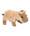Pluche capibara knuffeltje 18 cm