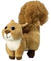Pluche eekhoorn 18 cm