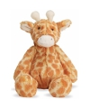 Pluche giraffe knuffel 19 cm