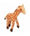 Pluche knuffel giraffe 24 cm
