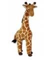 Staande giraffe knuffel 60 cm