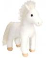 Wit paard knuffeldieren 30 cm