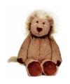Knuffel leeuw bruin 25 cm