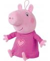 Roze Peppa Big knuffels 45 cm