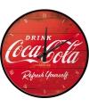 Horeca versiering klok Coca Cola