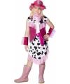 Roze cowboy pakje voor meisjes