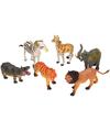 Safaripark dieren van plastic