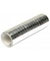 Serpentine zilver 4 meter