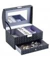 Juwelen doosje met spiegel 21 cm