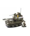 Sluban speelgoed legertank 28,5 x 23,7 cm