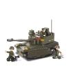 Sluban schaalmodel tank met 3 soldaatjes 33 x 23,7 cm