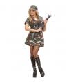 Soldaten kostuum jurkje
