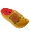 Klomp spaarpot geel / rood 16 cm
