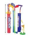 Plastic golf set voor kinderen