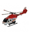 Speelgoed helicopter rood wit 21 cm