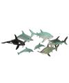 Plastic zeedieren pakket 7 stuks