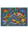 Speeldekens dorp met wegen 95 x 133 cm