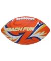 Zachte rugby ballen oranje 27 cm