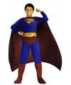 Superheld Superman jongens kostuum