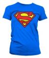 Film damesshirt Superman logo