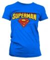 Fun damesshirt Superman