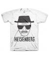 Fun shirt Heisenberg wit