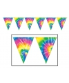 Hippie feest versiering vlaggetjes