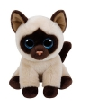 Ty Beanie knuffel Siamees poes 15 cm