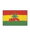 Vlag Marihuana  teken