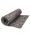 Yogamat grijs camouflageprint 185 cm