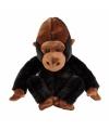 Zittende knuffel gorilla 25 cm